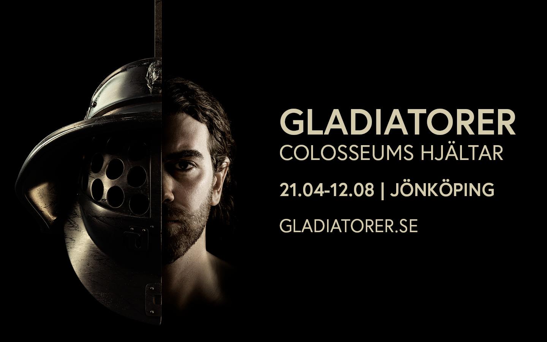 Utställning om gladiatorer och romarriket